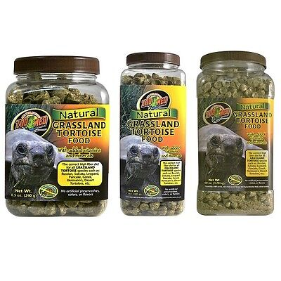 ZooMed Grassland Natural Tortoise Food 240g, 425g, 1.7kg
