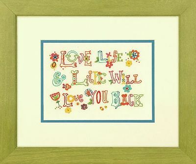 Dimensions - Crewel Embroidery Kit - Love Life - D71-06244