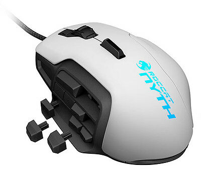 ROCCAT Nyth Modular MMO 12000 dpi Laser Gaming Mouse White ROCCAT GAMING