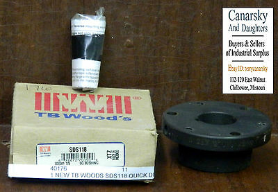 1 New Tb Woods Sds118 Quick Disconnect Bushing ***make Offer***