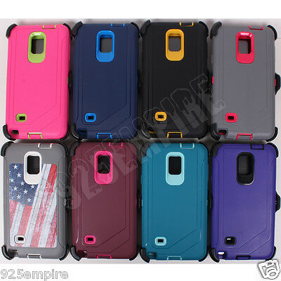 for Samsung Galaxy Note 4 Case Cover (Belt Clip fits Otterbox Defender)