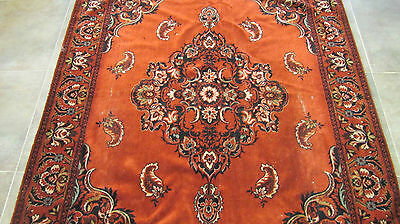 Old Dutch Antique Wall Hanging Rug Real Wool Table Cloth Thick Pile Tapestry