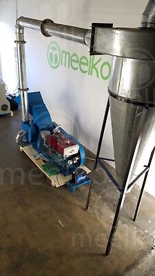 Hammer Mill With Cyclone 22Hp Diesel Engine / Electric Starter (Usa Stock)
