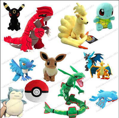 2016 HOT Pokemon Go Plush Soft Teddy Stuffed Dolls Kids Toy Combination