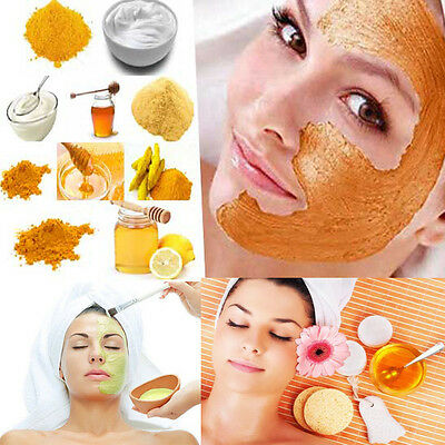 Natural 100% Herbal Facial Clean Up Face Body Scrub & Toner Homemade Recipe