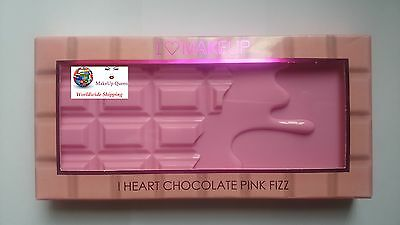 Makeup Revolution I Heart Chocolate Bars Eyeshadow Palette Pink Fizz