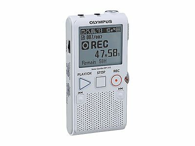 New Olympus 2GB Digital Notetaker Voice Recorder Dictaphone with SD Card Slot