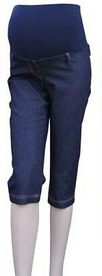 BNWT Maternity Cropped Denim Style Trousers Size 6, 8 &10 (last few left)