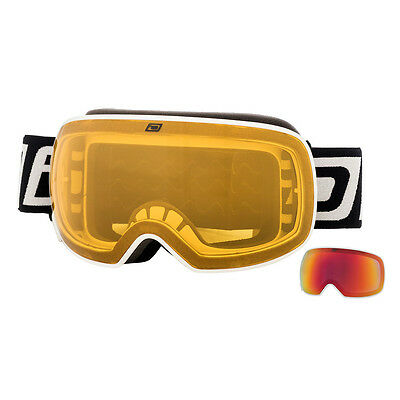 Dirty Dog Mutant 2.0 Snow Goggles - White