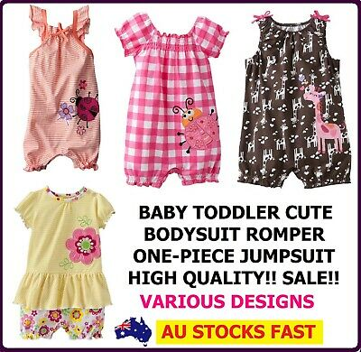 Baby Girls Toddler Girl Clothes Romper Body Suit One Piece Jumpsuit Dress Wear