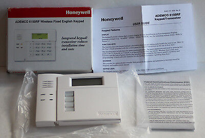 NEW Honeywell Ademco 6150RF Wireless Fixed English Keypad / Transceiver