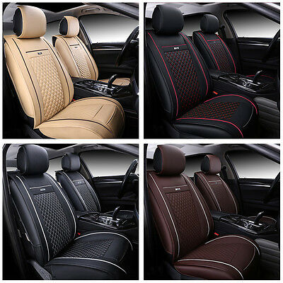 PU Leather Auto Car Seat Mat Covers 3D Full Surrounded for TOYOTA RAV4 2013-2016