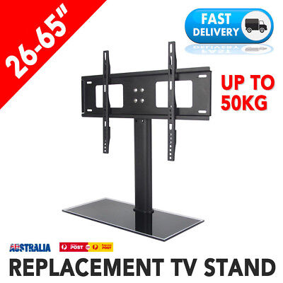 Adjustable Universal Desktop Mount Stand Bracket Monitor LCD LED Plasma TV