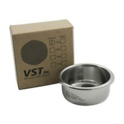 Filter Basket 58mm Group VST Precision Double 22g Ridgeless  VST