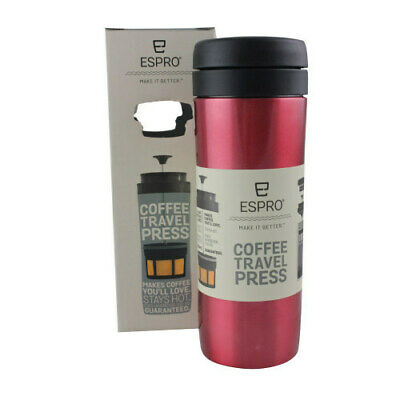 Espro Travel Press 15oz - Red   Espro