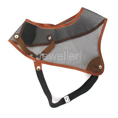Archery Nylon Mesh Chest Protector Guard for Bow Hunting Shooting Gear Black