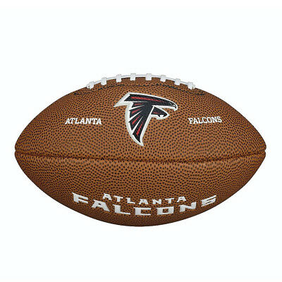 Atlanta Falcons Wilson NFL Team Logo Mini Football Ball