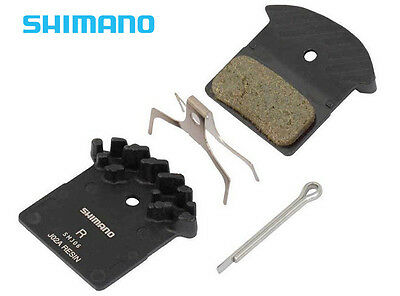 Shimano J02A Resin Cooling Fin Ice Tech Disc Brake Pads XTR XT SLX Deore as F01A