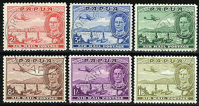 Papua 1939 Air set of 6 SG163-168 Superb Used