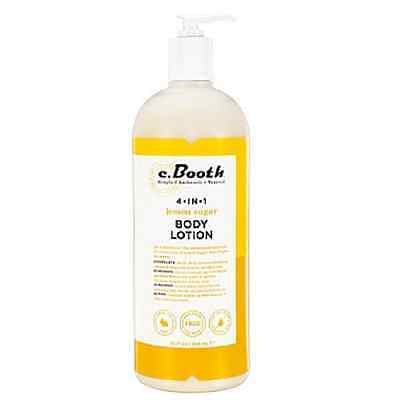 c. Booth 4-in-1 Multi-Action Body Lotion, Lemon Sugar 32 oz