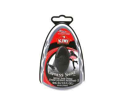 KIWI Express Shine Sponge Shoe Polish, Black 0.23 oz