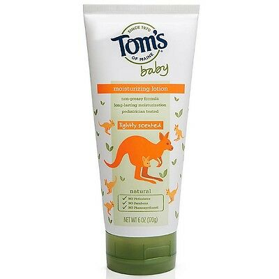 Tom's of Maine Baby Moisturizing Lotion, Lightly Scented 6 oz