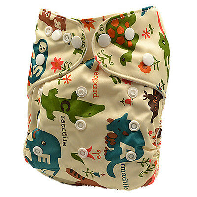 New Washable Reusable Waterproof Modern Cloth Nappy Boy Boyish Nappies (D109)