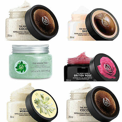 Body Shop ◈ FULL RANGE BODY SCRUB ◈ Luxurious Exfoliating Stimulating Gel ◈250ml