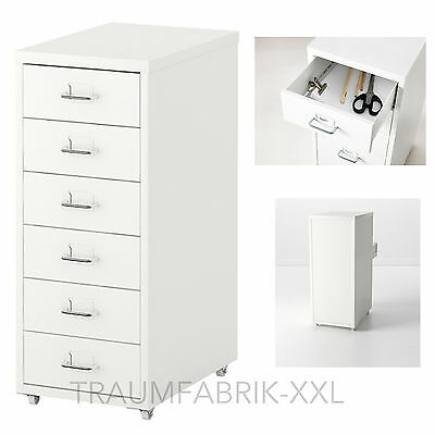 b ro rollcontainer move schreibtisch regal aus holz hochglanz weiss eur 99 95 picclick de. Black Bedroom Furniture Sets. Home Design Ideas