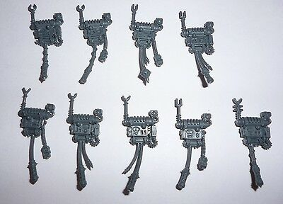 Adeptus Mechanicus Skitarii Backpacks x 9 - G359