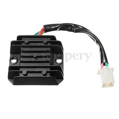 Universal 12V 4 Wires Regulator Rectifier For Motorcycle Motorbike Quad Scooter