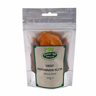 Persimmon Slices Dried (Sharon Fruit) 50g