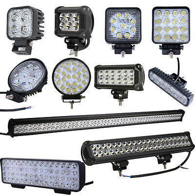 LED Work Light 12W 18W 27W 36W 48W 72W LED Car Boat Offroad Lamp SUV/ATV 12V 24V