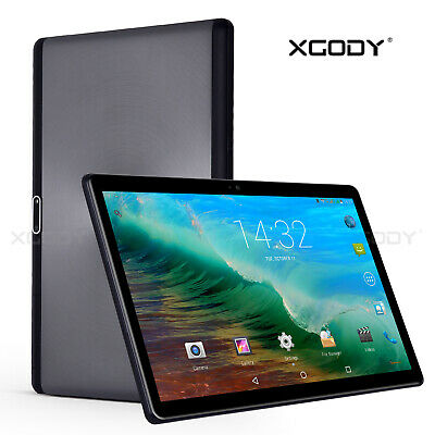 XGODY 10,1 ZOLL Tablet PC Android 6.0 Dual SIM 3G GPS Quad Core 16GB WiFi HD NEU