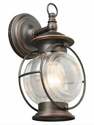 New Porch Outdoor Patio Wall Exterior Lighting Bronze Sconce Light Fixture Lamp