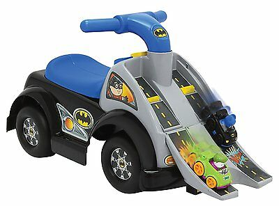 NEW Fisher Price DC Friends Wheelies Batman Ride-on Toy Kids Boy Batman Car Toys