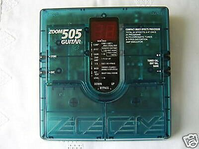 Zoom 505 Electric Guitar Multi Effects Pedal & Power Supply