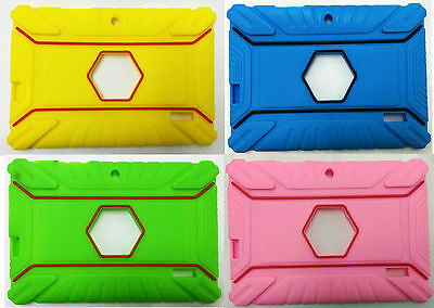 "7 /""Gomma in Silicone Slim Custodia per Tablet Android Allwinner Q88"