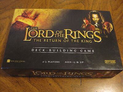 The Lord of the Rings The Return of the King Deck Building