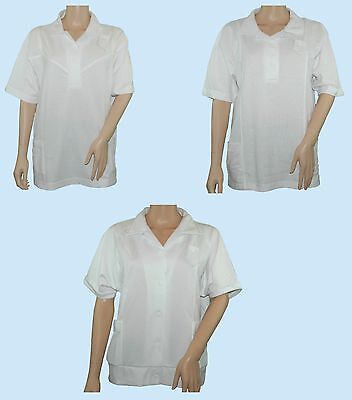 BLUE REEF Ladies CoCo Sally & Tammy Womens Bowling Bowls Blouse White12 - 22