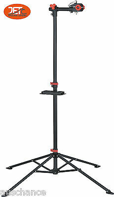 New Bike Repair Work Stand With Bonus Tool Tray for Home Bicycle Mechanic-JET05
