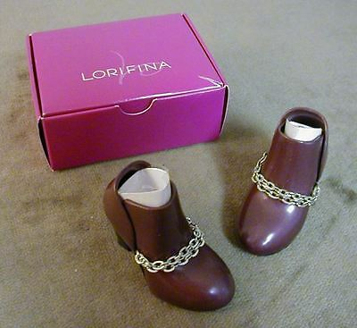 Brown Boots For Hasbros Lorifina Doll