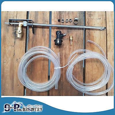 Brand New Stainless Steel Bottle Filling Beer Gun, CO2 injection, Home Brewing