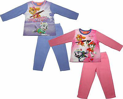 Paw Patrol Girls Micro Polar Fleece Pyjamas By BestTrend
