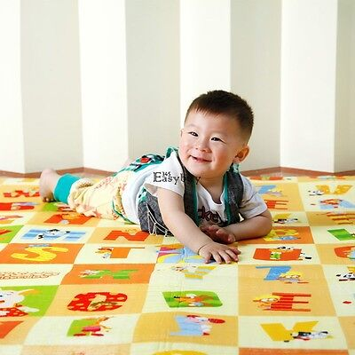 Baby Foam Floor Play Mat Child Activity Kid Eductaional Toy Gift Gym Crawl New