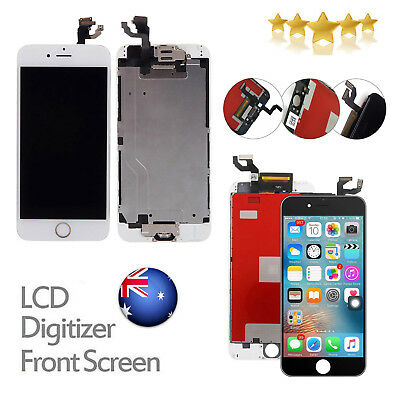 """For iPhone 6 4.7"""" LCD Replacement Touch Screen Digitizer Display Assembly B & W"""