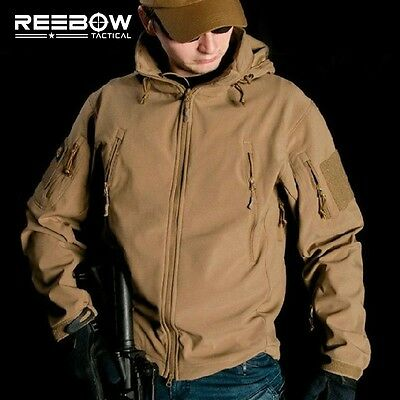 Tactical Military Jacket Shark Skin Softshell Men Winter Outdoor Sport Army Coat