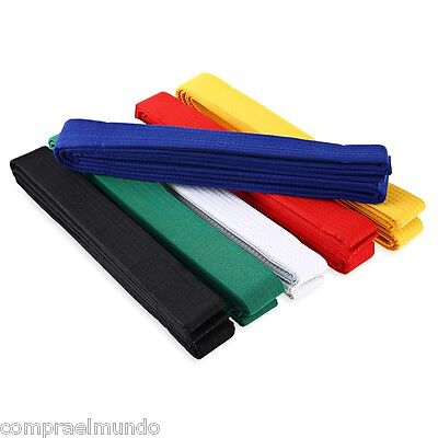 Karate Martial Arts Taekwondo Belts A Variety of Colors Gender for Everyone