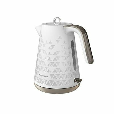 Morphy Richards 108252 Prism 3Kw Jug Kettle in White - Brand New - 2yrs Warranty
