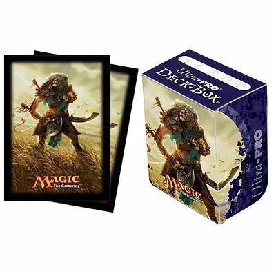 Ultra Pro MTG Journey Into Nyx - Ajani Deck Box & 80 Sleeves